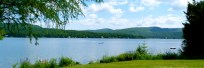 Lake Seymour, the second largest freshwater lake in Vermont